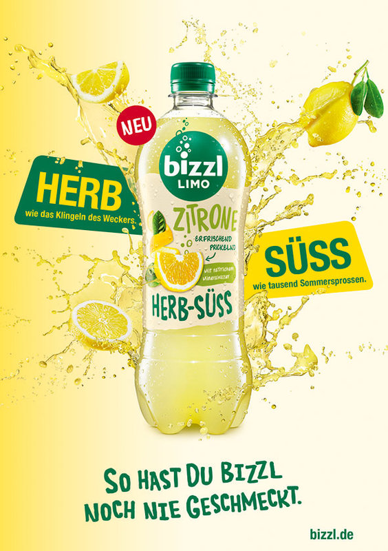 Elisabethen Quelle Bio-Sprizz und bizzl HERB-SÜSSE Limonaden
