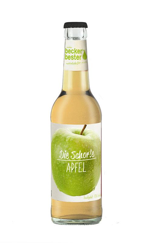 """""""Die Schor!e Apfel"""" mit 70% Direktsaft"""