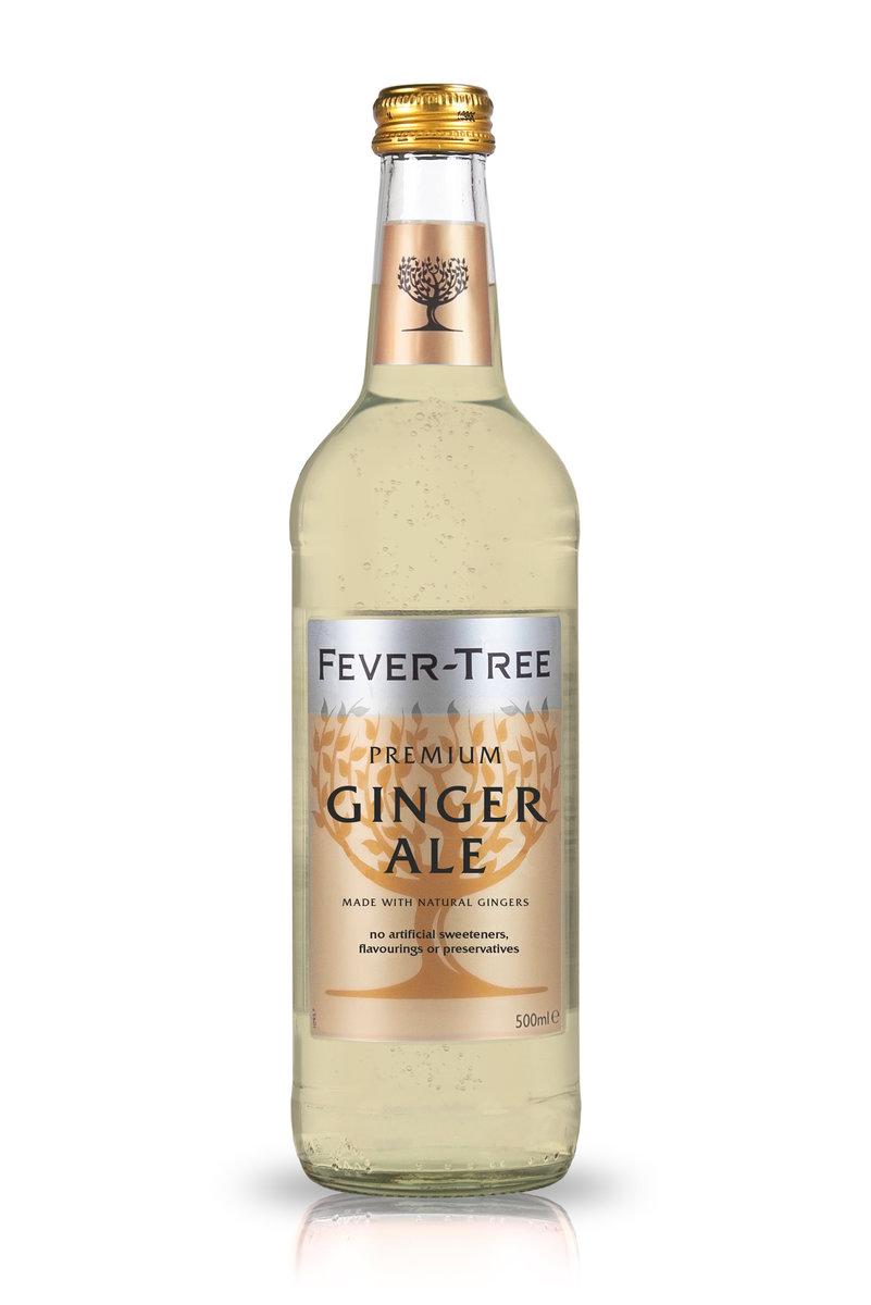 Fever-Tree Ginger Ale neu als 500-ml-Glasflasche