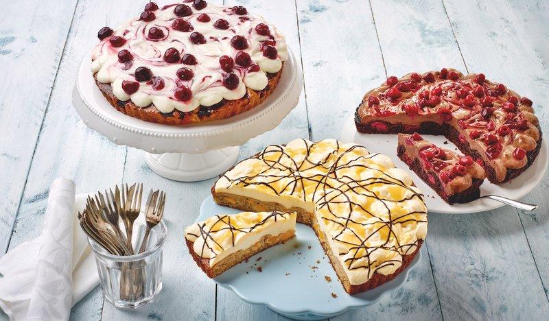 Sahne-Cakes von Schöller Backwaren