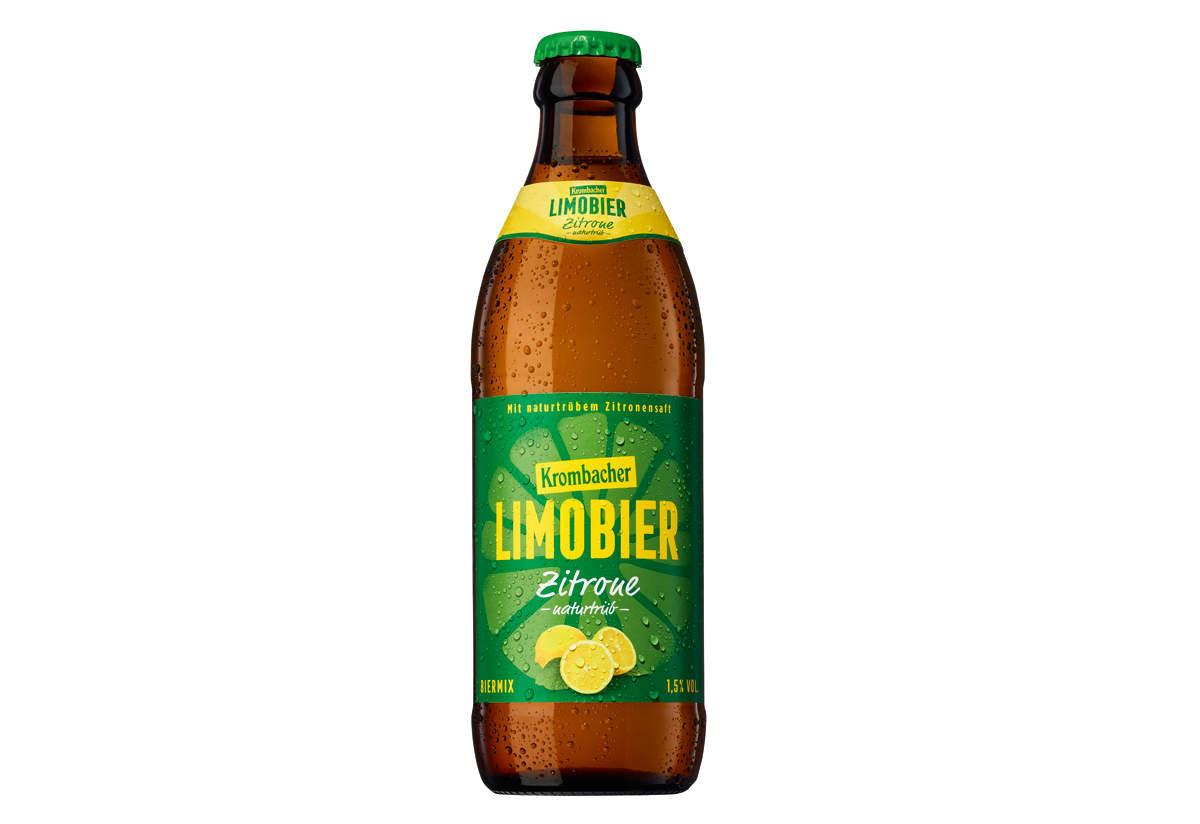 Das neue Krombacher Limobier: Mehr Limo als Bier.