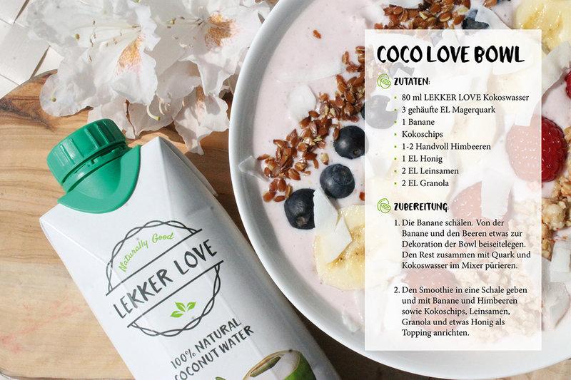 LEKKER LOVE Kokoswasser im 0,33 L Tetra Pak