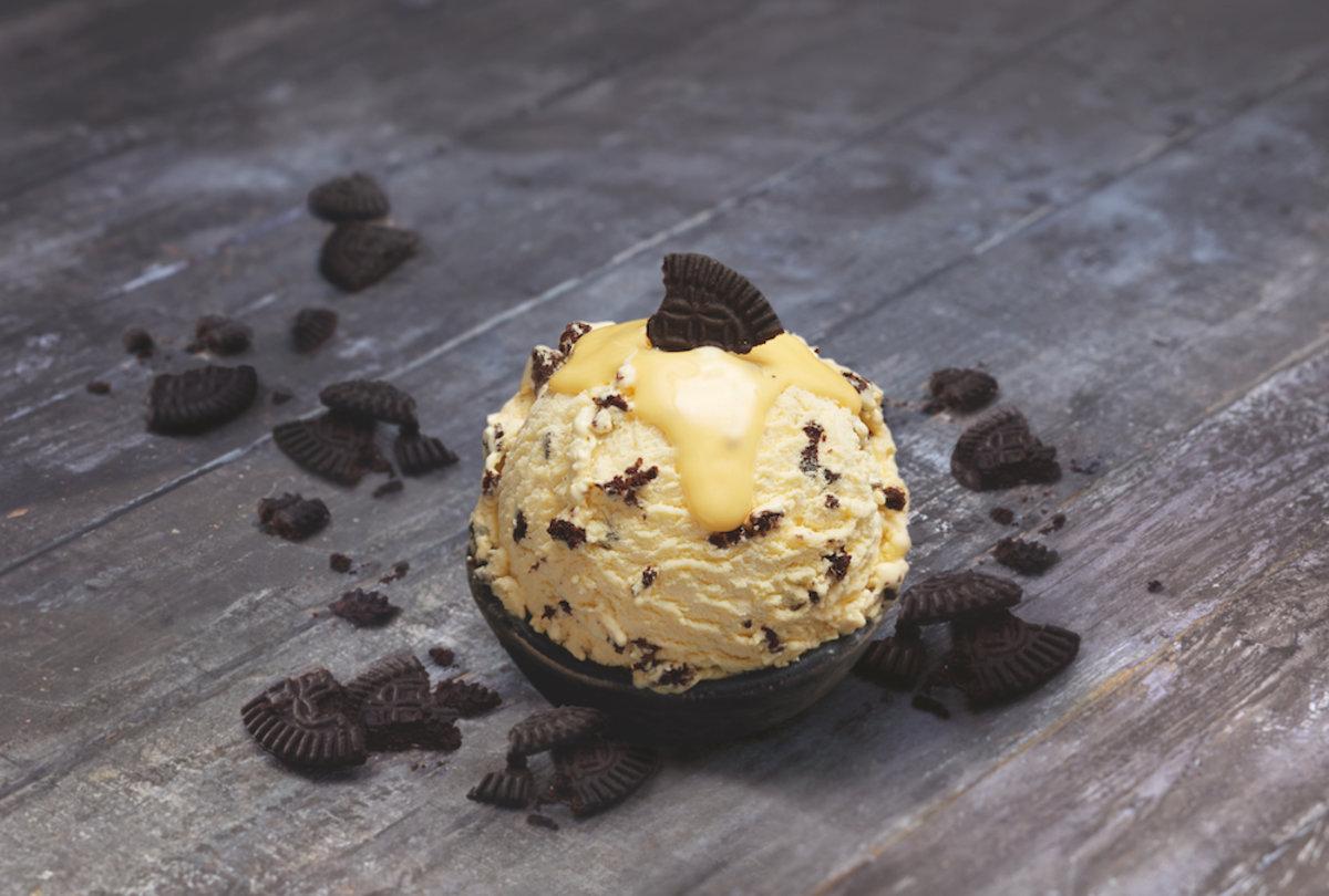 Neues Wintereis: Mövenpick Eierlikör Cookies