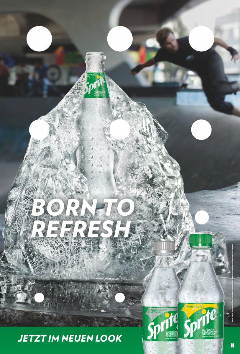 Relaunch: Sprite erhält neues Verpackungsdesign