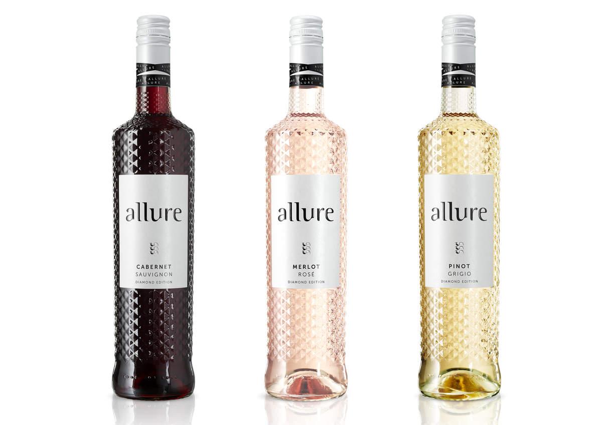 Luxuriös, stylish und klimaneutral – Weinserie Allure