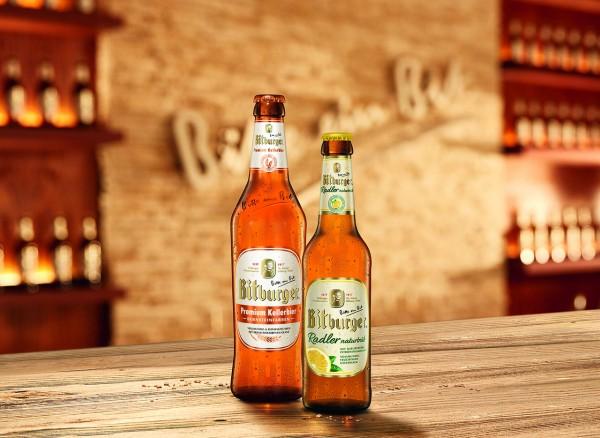 Die Bierspezialität Bitburger Premium Kellerbier bernsteinfarben (Bildrechte/Urheber: bitburger-braugruppe)