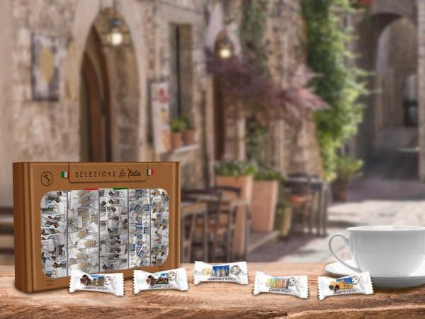 Die neue limitierte Italian Selection Box (Bildrechte/Urheber: Hellma)