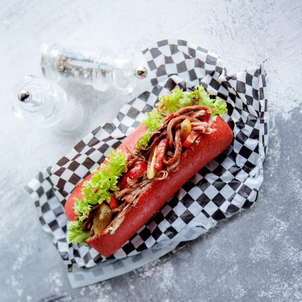 Edan Hotdog, rot (Bildrechte/Urheber: Edna)