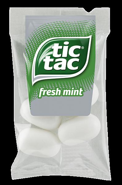 Das neue Tic Tac im Viererpack erfrischt Ihre Gäste (Bildrechte/Urheber: Hellma)