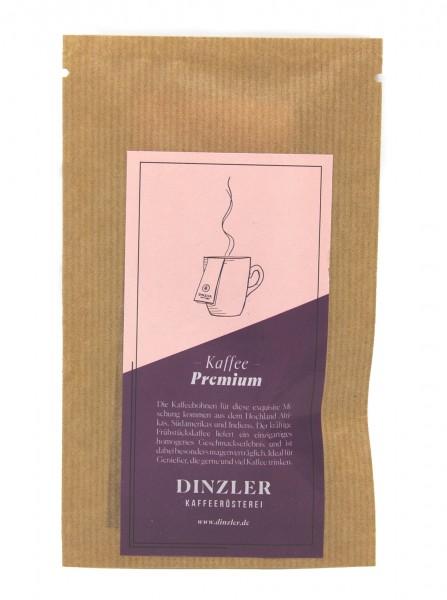 DINZLER Kaffeebeutel (Bildrechte/Urheber: DINZLER)