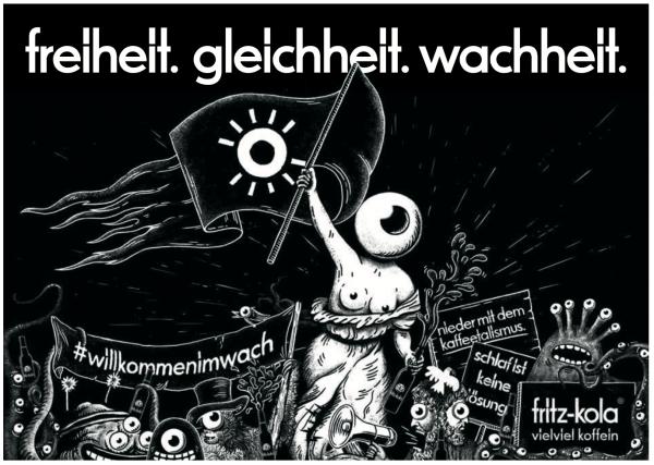 20180427_fritz-kola_fritzo_ische_Revolution (Bildrechte/Urheber: Fritz Kulturgüter)