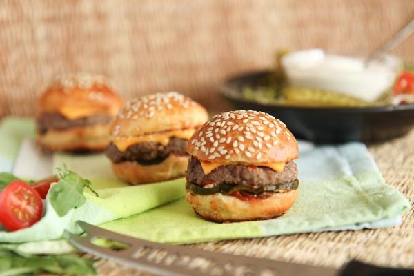 Mini-Burger Cheese (Bildrechte/Urheber: Delifrance)