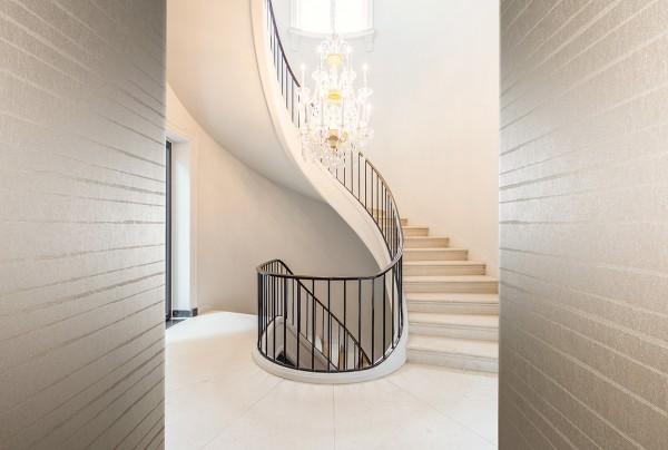 Die neue Textiltapete Tiffany aus der Wallcovering Kollektion (Bildrechte/Urheber: Vescom GmbH)