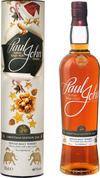Paul John Christmas Edition 2018 (Bildrechte/Urheber: Paul John Whiskey)