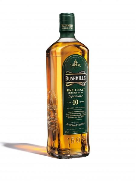 Bushmills 10 Jahre alter Whiskey (Bildrechte/Urheber: Bushmills)
