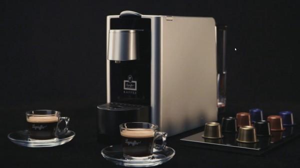 Kapselmaschine Silber (Bildrechte/Urheber: Hanseatische Kaffee GmbH)