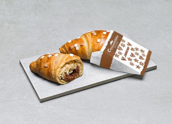 Lebkuchen-Buttercroissant (Bildrechte/Urheber: FRONERI Schöller)