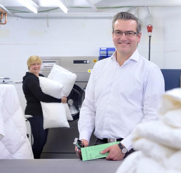 Betten Struve in Lübeck setzt auf Wäschereitechnik von Miele (Bildrechte/Urheber: Miele)