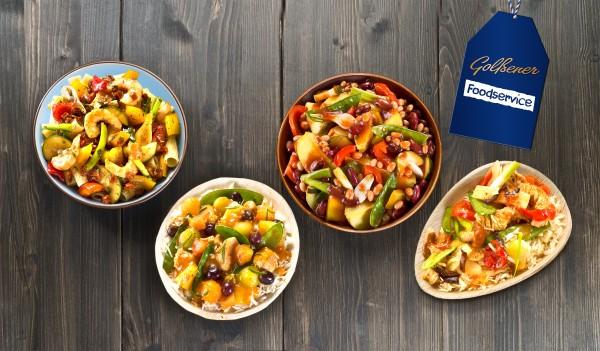 Schmackhafte Bowls (Bildrechte/Urheber: Golßener Foodservice)