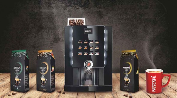 NescafeME-Maschine (Bildrechte/Urheber: Nestlé Professional GmbH)