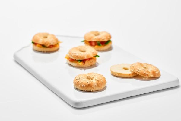 Coup de pates Mini Bagel Sesam (Bildrechte/Urheber: Aryzta Food Solutions GmbH)