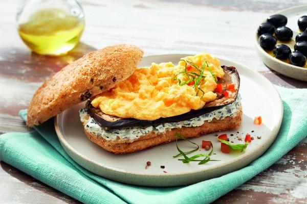 Snegg, der runde Rührei-Snack für die Mittagspause (Bildrechte/Urheber: eipro)