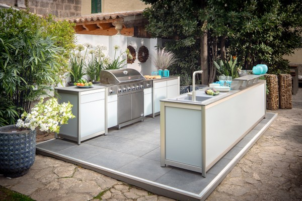 stilvoll im freien kochen die wesco outdoork che produkte produkt scout. Black Bedroom Furniture Sets. Home Design Ideas