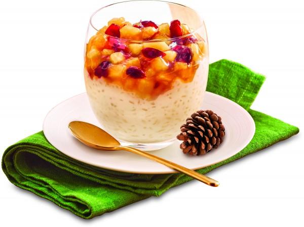 Rezept Winterlicher Milchreis (Bildrechte/Urheber: frischli Milchwerke)