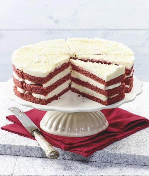 Red-Velvet-Torte (Bildrechte/Urheber: Erlenbacher Backwaren GmbH)