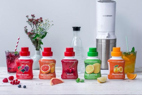 SodaStream Frucht Sirups Range (Bildrechte/Urheber: SodaStream)