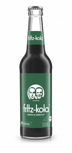 fritz-kola grün und gerecht (Bildrechte/Urheber: fritz-kulturgüter GmbH)