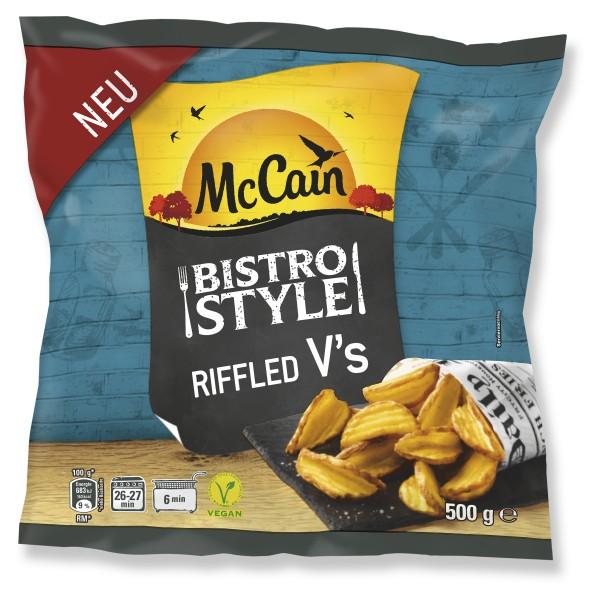 Die neuen Riffled V´s (Bildrechte/Urheber: McCain GmbH)