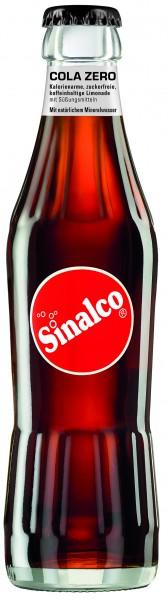 Wurden vor kurzem in der beliebten 0,33 Liter Glasflasche für die Gastronomie eingeführt: Die Sinalco Sorten Zitres und Cola Zero. (Bildrechte/Urheber: Deutsche Sinalco)
