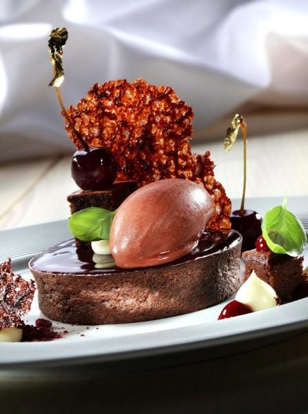 Black Forest Edition im HUG Filigrano Dessert Tartelette Choco 8,3 cm (Bildrechte/Urheber: HUG AG)