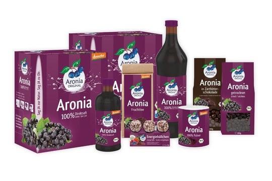 Die Aronia-Produktvielfalt des Unternehmens (Bildrechte/Urheber: Aronia Original)