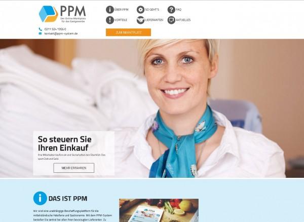 Das PPM-System für Markengastronomen, Catering- und Hotelbetriebe (Bildrechte/Urheber: ppm)